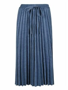 RED Valentino Wide Pleated Skirt