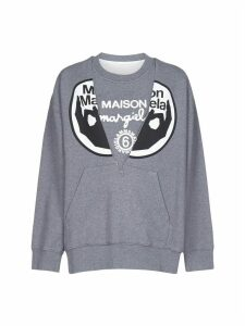 MM6 Maison Margiela Logo Fleece