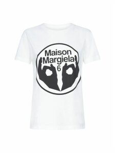 MM6 Maison Margiela Print Short Sleeve T-shirt
