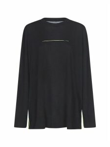 MM6 Maison Margiela Contrast Stitch Sweater