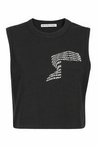 T by Alexander Wang Warped Logo T-shirt