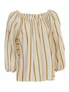 Forte Forte Shirt Voille W/stripes