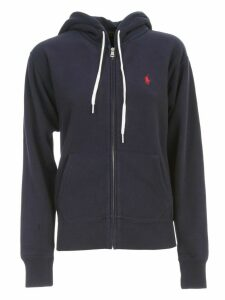 Polo Ralph Lauren Sweatshirt W/zip And Hood