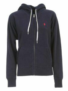 Polo Ralph Lauren Sweatshirt W/zip And Hood
