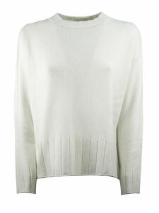 Antonelli White Wool Sweater