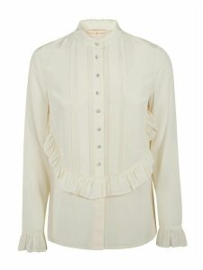 Tory Burch Ruffled Long-sleeved Shirt