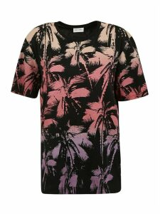 Saint Laurent Tropical Print T-shirt