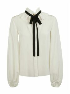 Chloé Bow Detail Long-sleeved Blouse