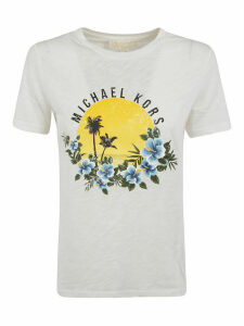 MICHAEL Michael Kors Tropical Logo T-shirt