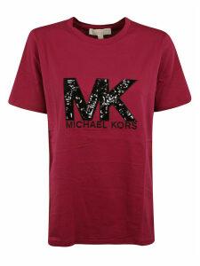 Michael Kors Initials Logo Print T-shirt