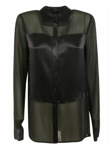 Michael Kors Glossy Buttoned Blouse