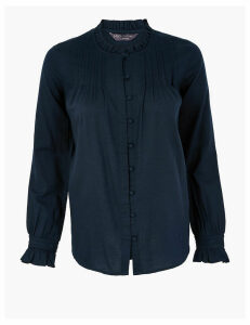 M&S Collection Button Detailed Blouse