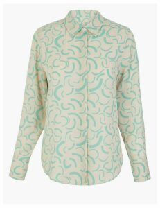 M&S Collection Printed Shirt