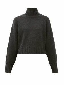 Proenza Schouler - Roll-neck Cashmere Sweater - Womens - Charcoal