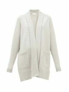Derek Rose - Nina Shawl-lapel Cashmere Cardigan - Womens - Light Grey