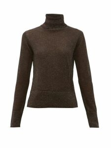 Altuzarra - Lexia Roll-neck Lurex Sweater - Womens - Black