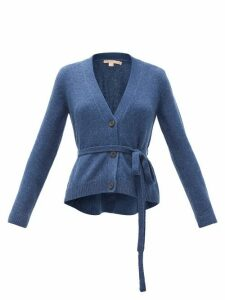 Brock Collection - Belted Cashmere Cardigan - Womens - Blue