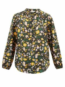 Apiece Apart - Core Bravo Floral-print Silk Blouse - Womens - Multi