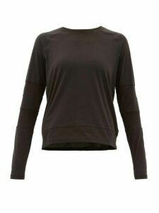 The Upside - Niki Mesh-panel Technical Top - Womens - Black