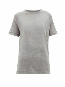 Falke - Ergonomic Wool-blend T-shirt - Womens - Grey