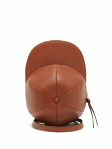 Jw Anderson - Cap Leather Cross-body Bag - Womens - Tan