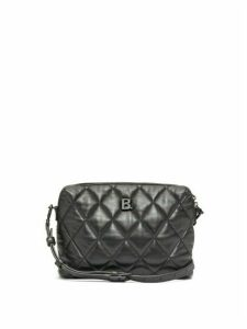 Balenciaga - Touch Small B-logo Quilted-leather Cross-body Bag - Womens - Black