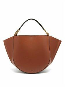 Wandler - Mia Large Leather Tote Bag - Womens - Tan