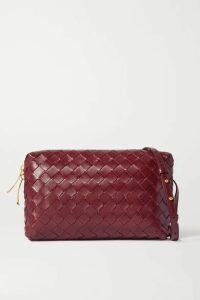 Bottega Veneta - Intrecciato Leather Shoulder Bag - Burgundy