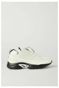 Reebok - + Gigi Hadid Dmx 2200 Mesh And Faux Leather Sneakers - White