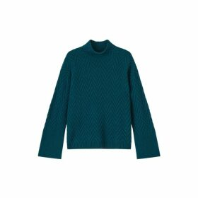 Jigsaw Herringbone Turtle Jumper