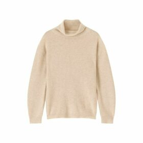 Jigsaw Rib Turtle Neck Jumper