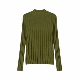 Jigsaw Ribbed Turtle Neck Jumper