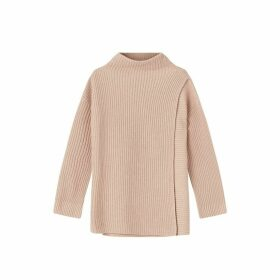 Jigsaw Fishermans Rib Wrap Jumper