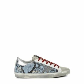 Golden Goose Deluxe Brand Superstar Python-effect Leather Sneakers
