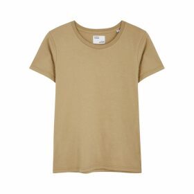 COLORFUL STANDARD Sand Cotton T-shirt