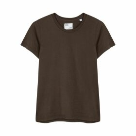 COLORFUL STANDARD Brown Cotton T-shirt