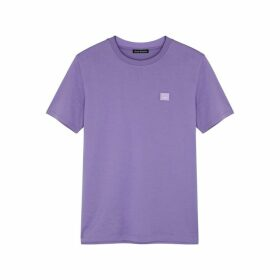 Acne Studios Ellison Face Cotton T-shirt