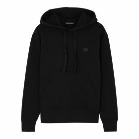 Acne Studios Ferris Face Black Cotton Sweatshirt