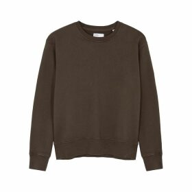 COLORFUL STANDARD Brown Cotton Sweatshirt