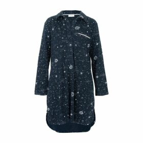 Wallace Cotton - Galaxy Nightshirt
