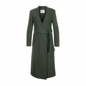 blank 03 - Herringbone V Coat