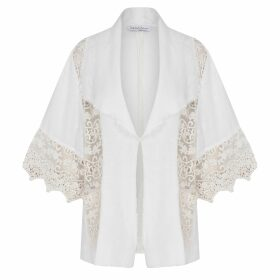 blank 03 - BoatNeck Cotton Shirt Beige