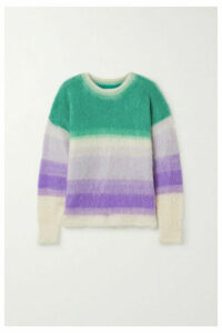 Isabel Marant Étoile - Drussell Striped Mohair-blend Sweater - Ivory