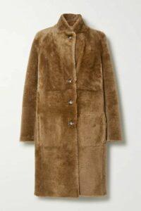 Joseph - Brittany Reversible Shearling Coat - Sand