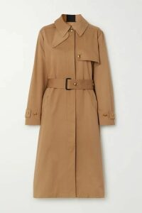 Givenchy - Grosgrain-trimmed Cotton-gabardine Trench Coat - Beige
