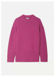Jason Wu - Fritz Oversized Knitted Sweater - Fuchsia