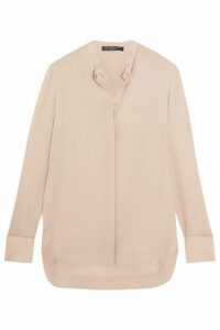 Alexander McQueen - Silk-georgette Shirt - Blush