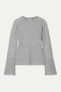 By Malene Birger - Open-knit Sweater - Gray