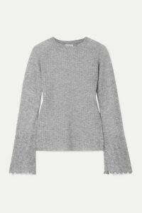 By Malene Birger - Open-knit Sweater - Gray