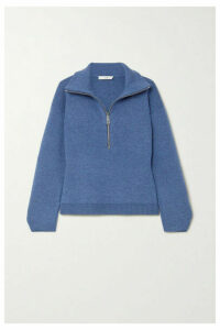 Tibi - Mélange Merino Wool-blend Sweater - Blue